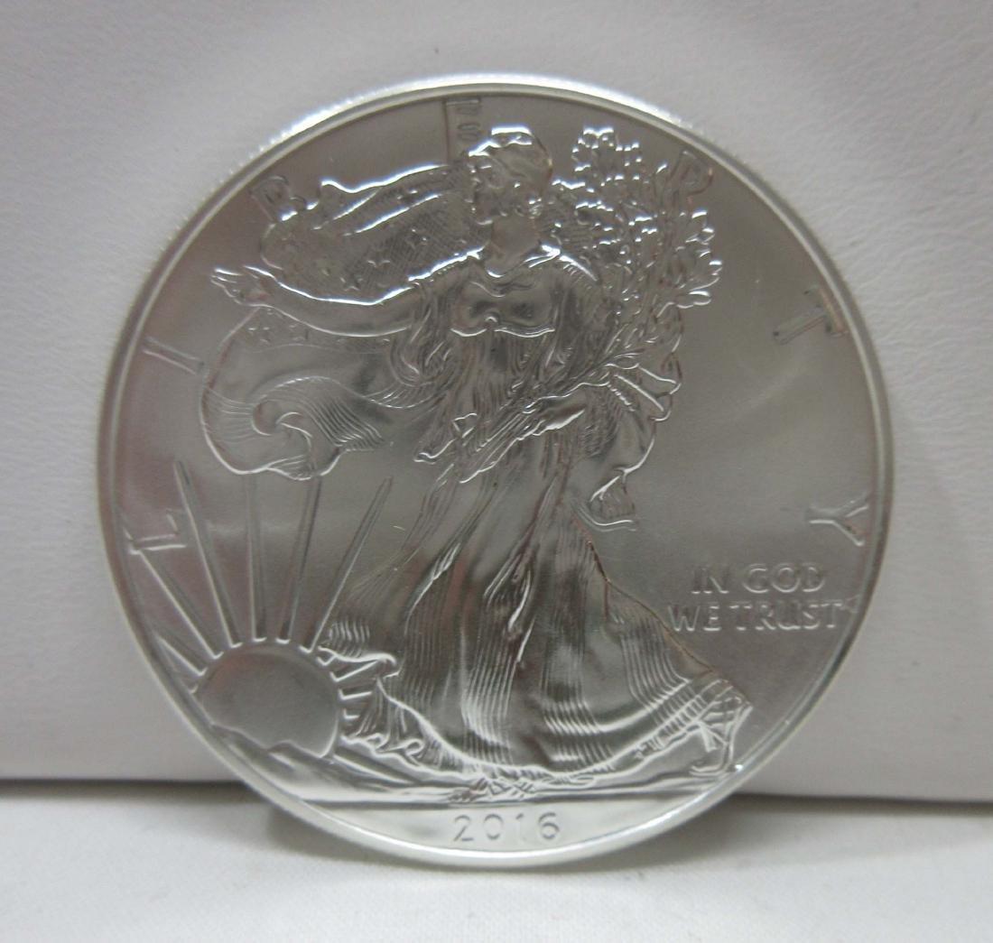 2016 Silver Eagle Coin BU