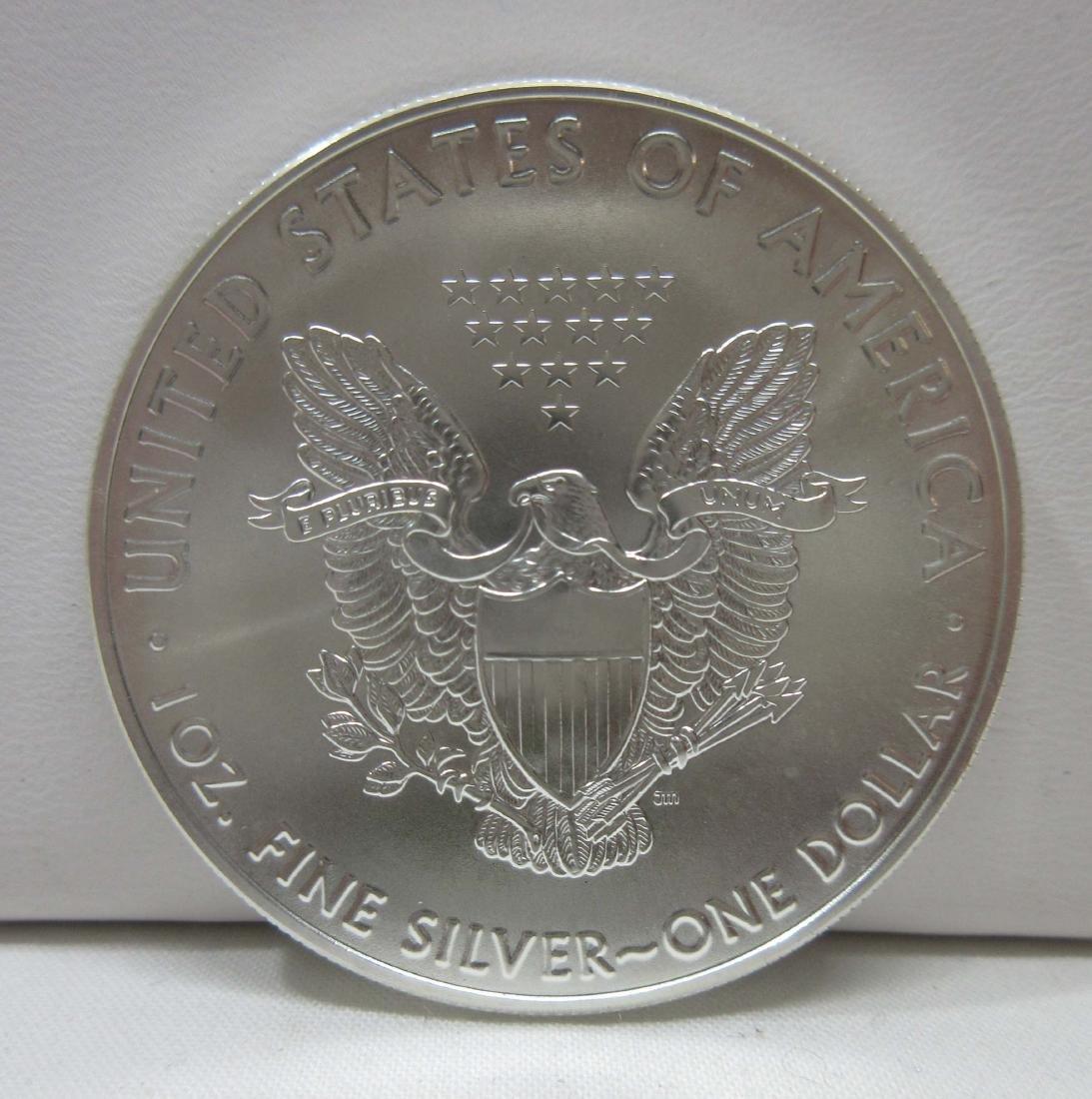 2016 Silver Eagle Coin BU - 2