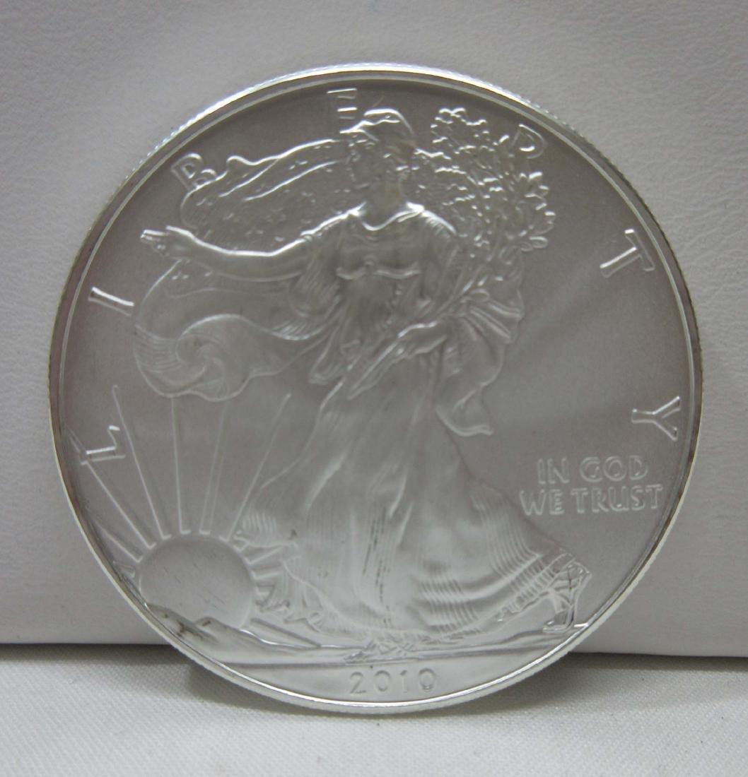 2010 Silver Eagle Coin BU