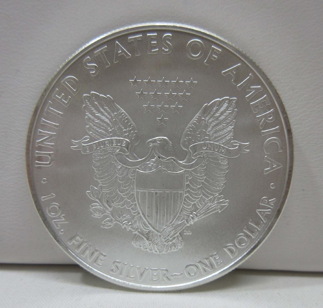 2010 Silver Eagle Coin BU - 2