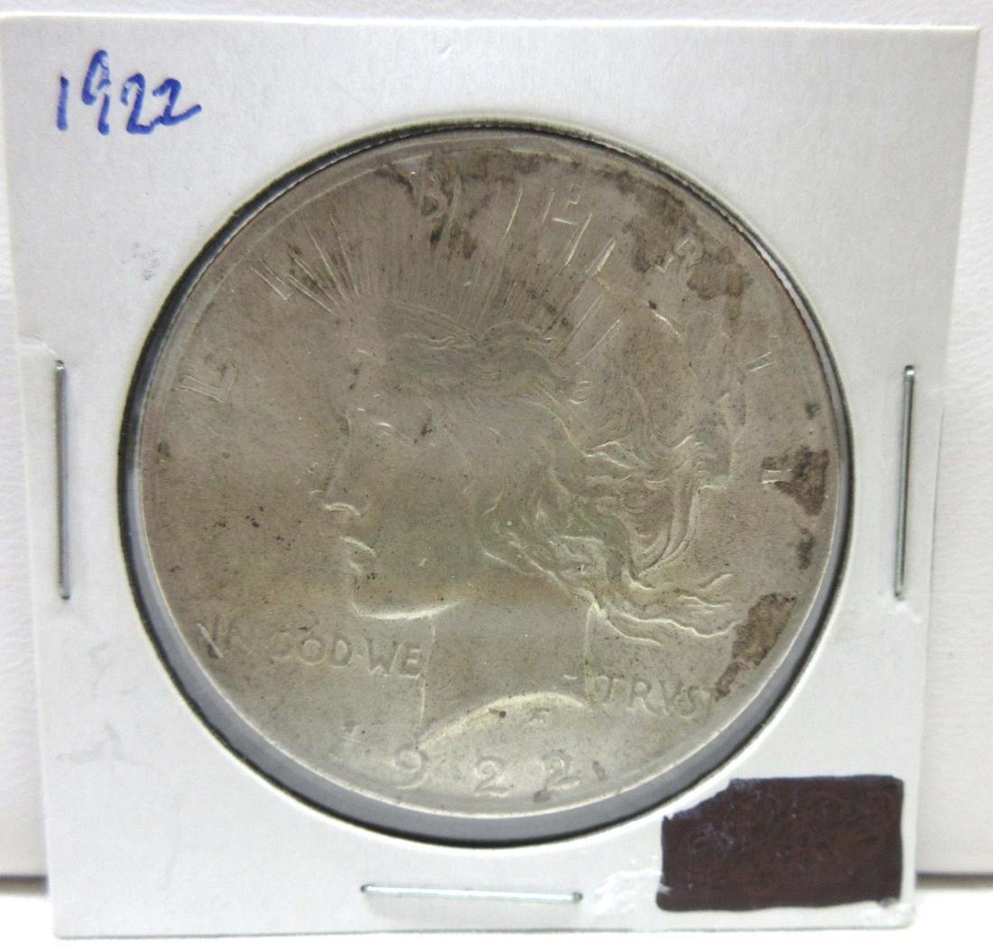 1922-P Silver Dollar