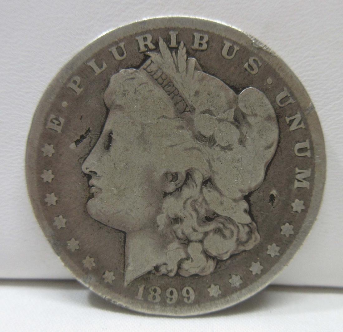 1899-P Silver Dollar
