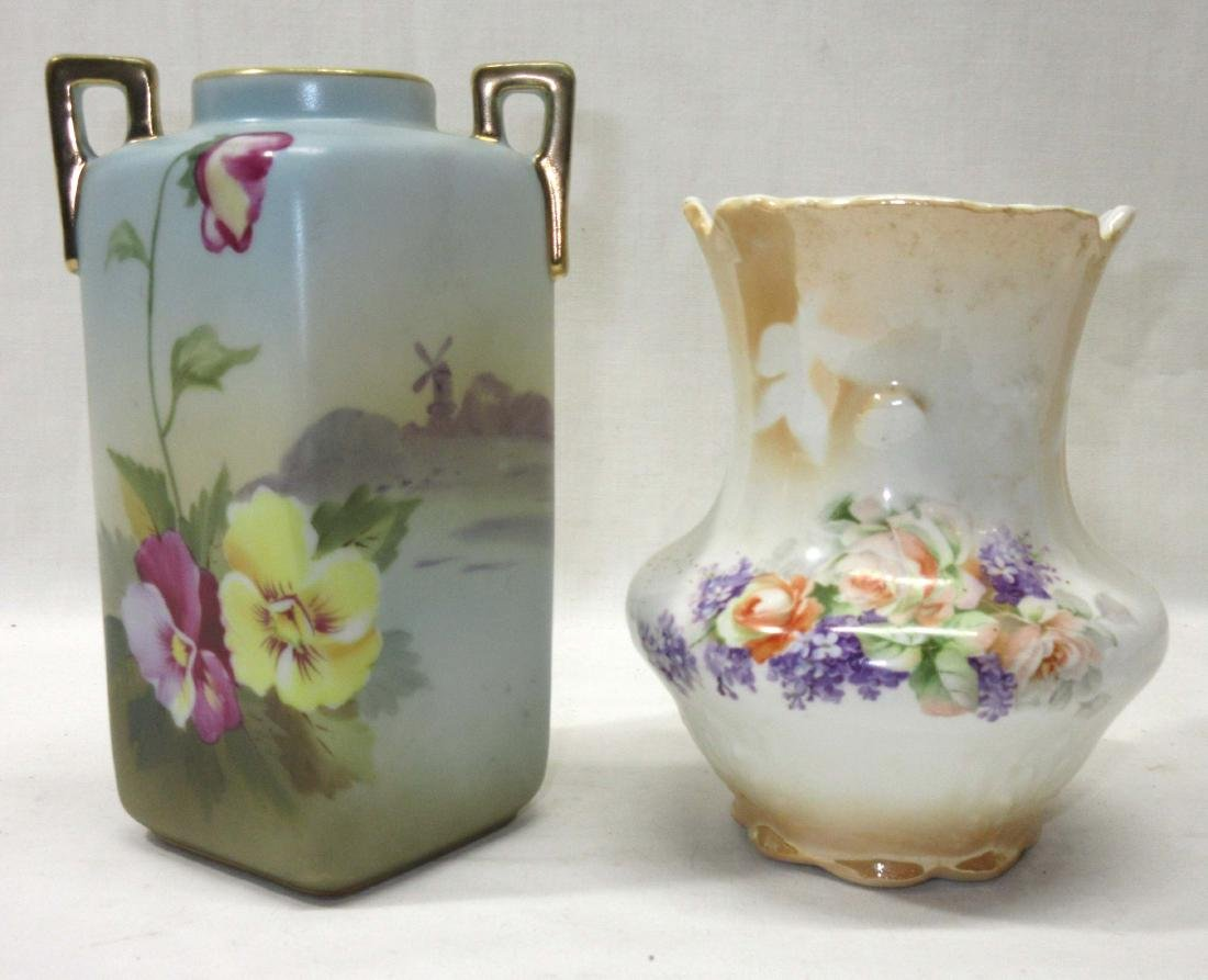 HP Nippon Sq. Vase & Another