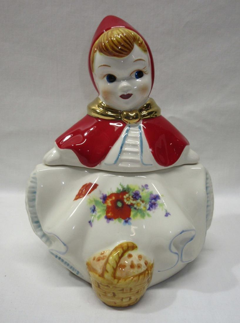 Modern Red Riding Hood Cookie Jar