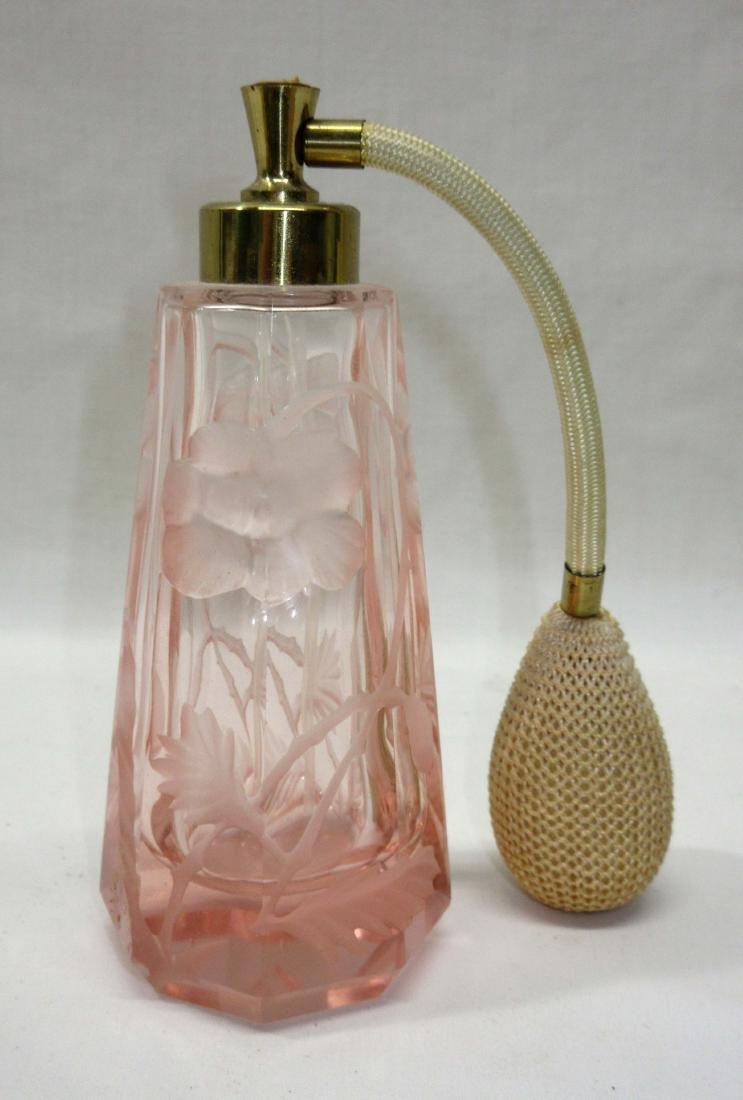 Pink Perfume w/ Cut Design - 2
