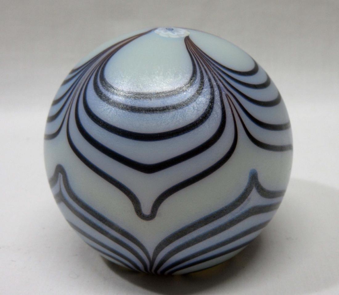 Art Glass Paperweight Sgnd. Schneider