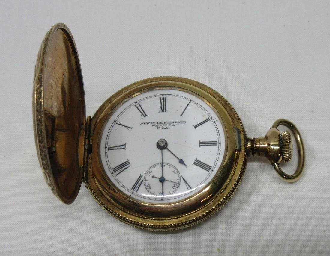H.C. New York Standard Pocket Watch