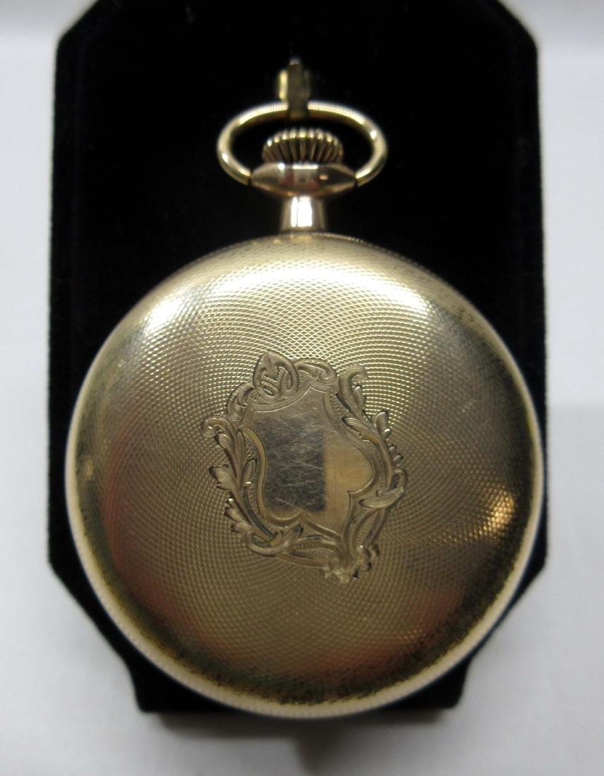 19j South Bend Pocket Watch Sz 16 - 2