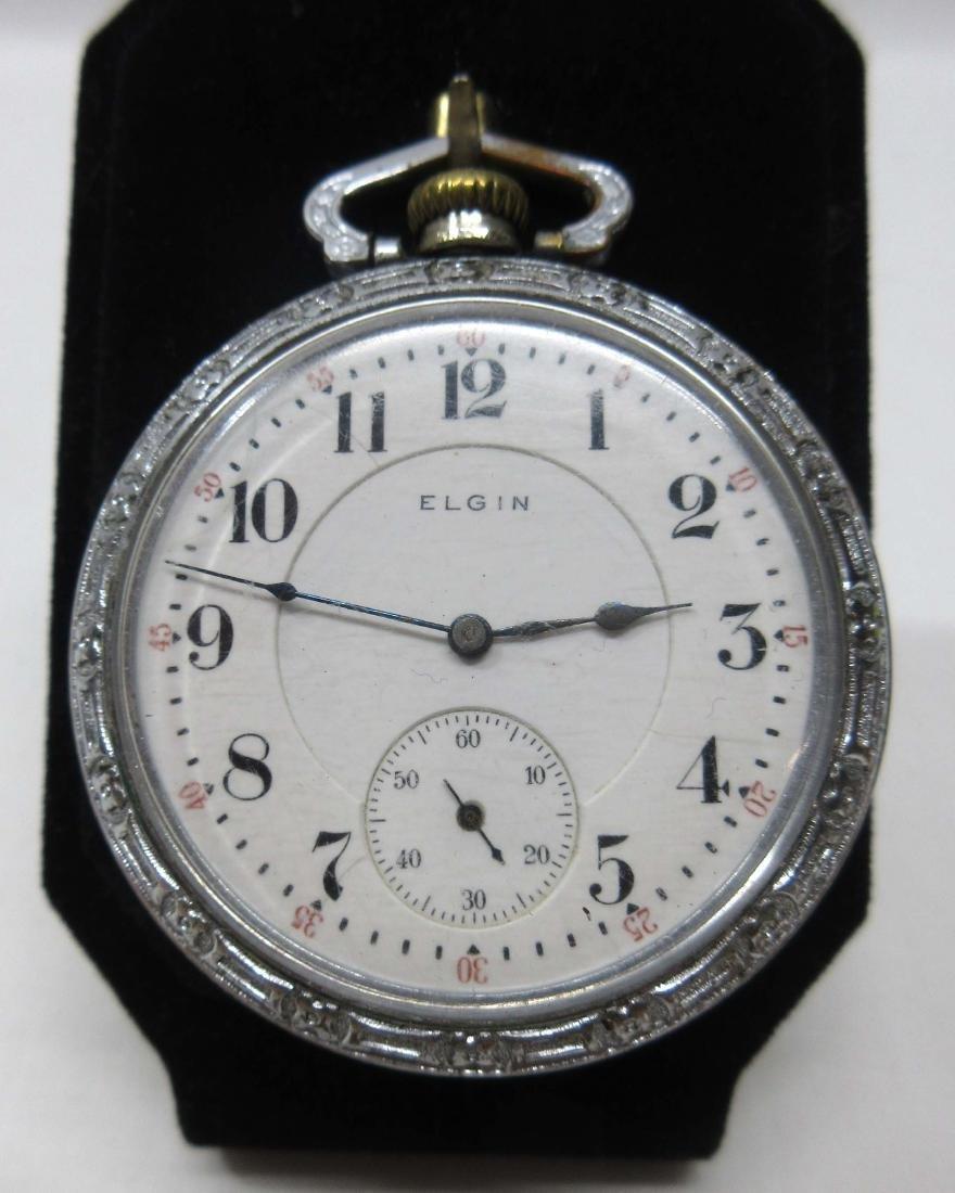 17j Elgin Pocket Watch Sz 16