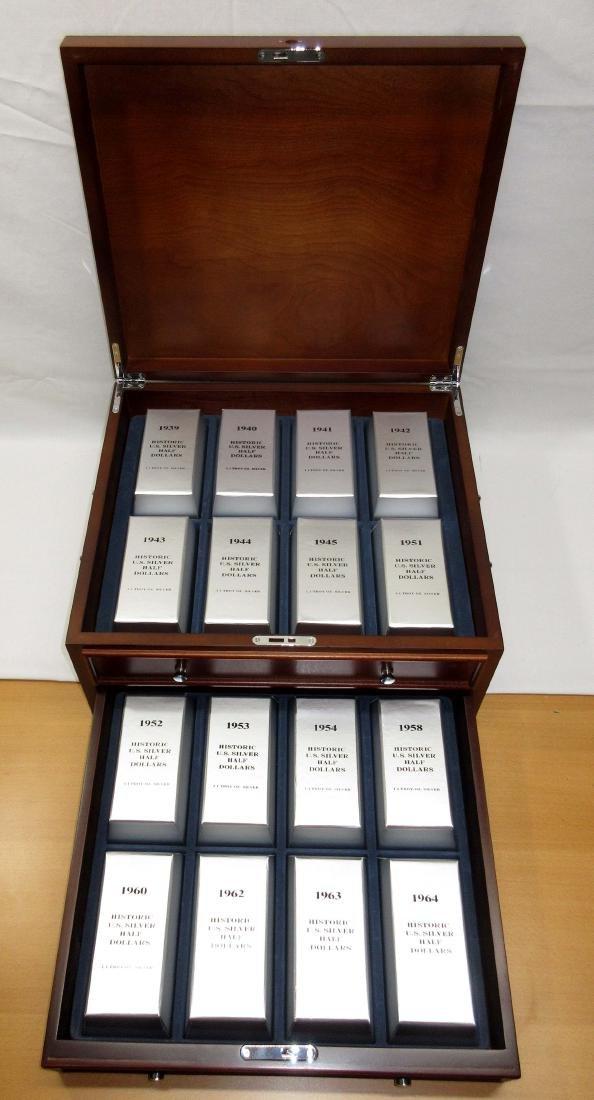 48 Historic U.S. Silver Half Dollars