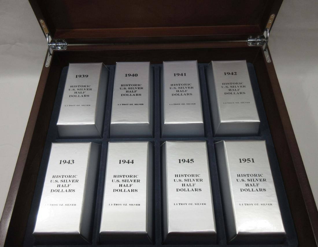 48 Historic U.S. Silver Half Dollars - 2