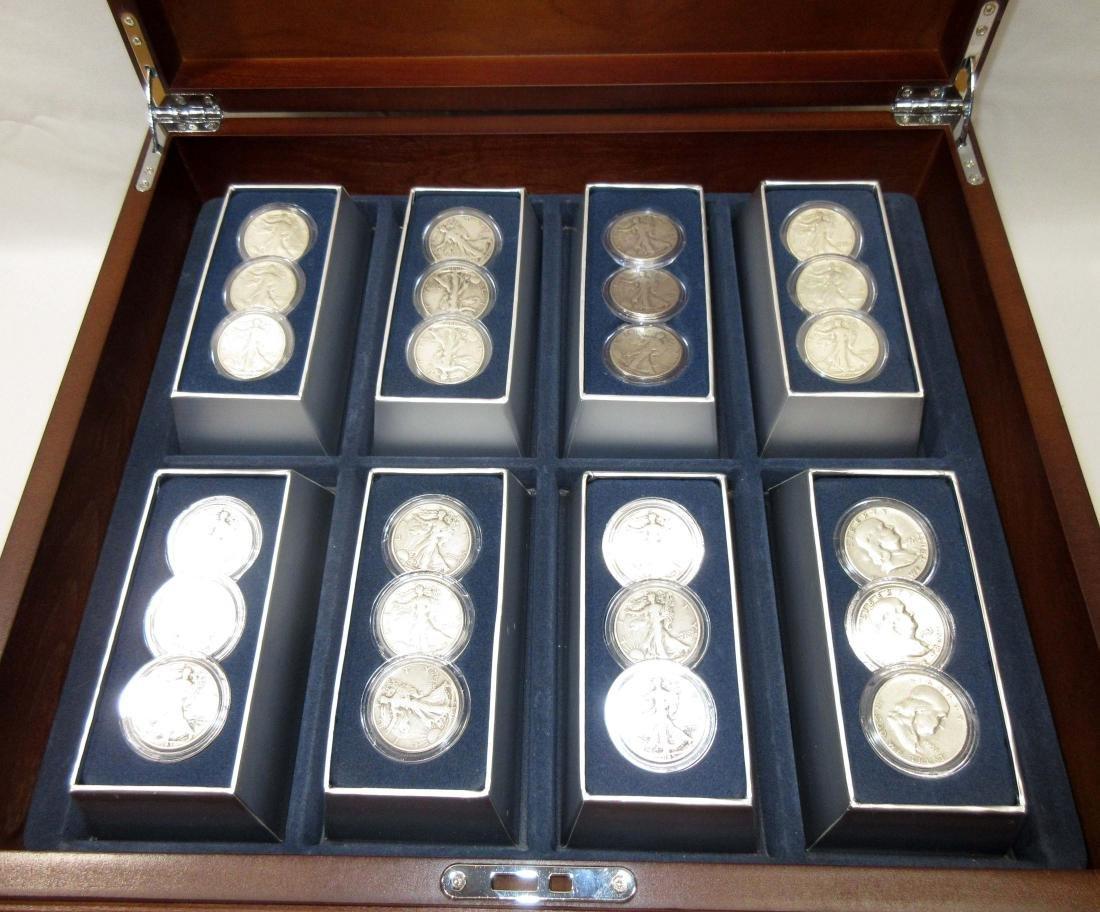 48 Historic U.S. Silver Half Dollars - 3