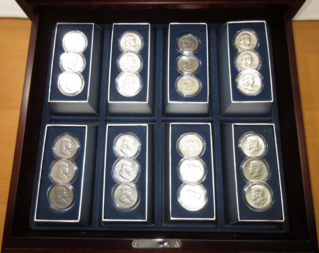 48 Historic U.S. Silver Half Dollars - 5