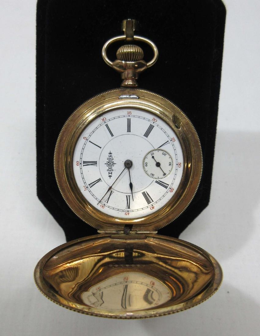 11j Illinois H.C. Pocket Watch Sz 6