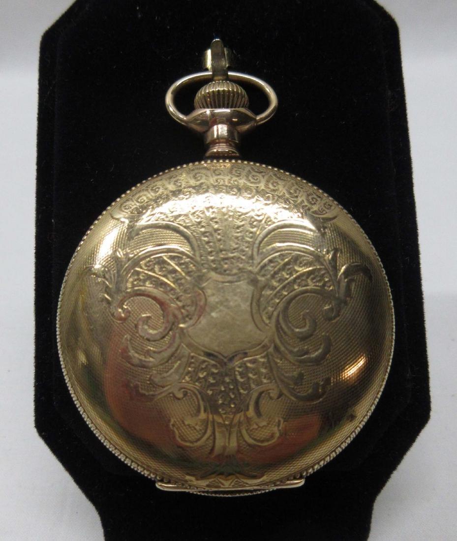 11j Illinois H.C. Pocket Watch Sz 6 - 2