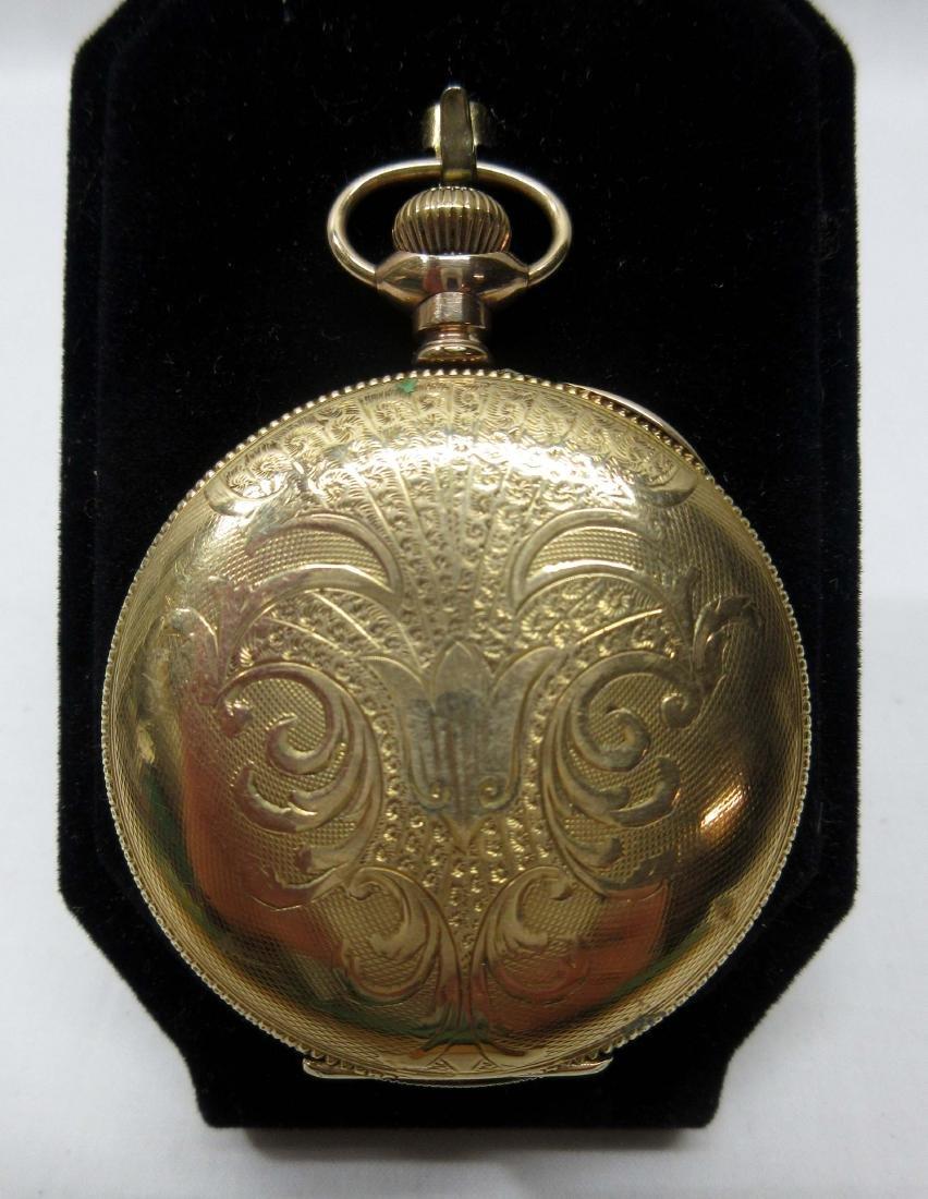 11j Illinois H.C. Pocket Watch Sz 6 - 3