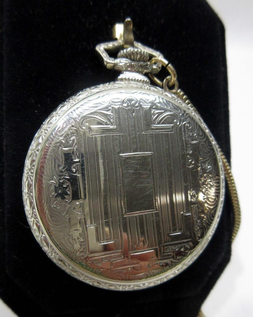 19j Illinois Pocket Watch Sz 12 - 3