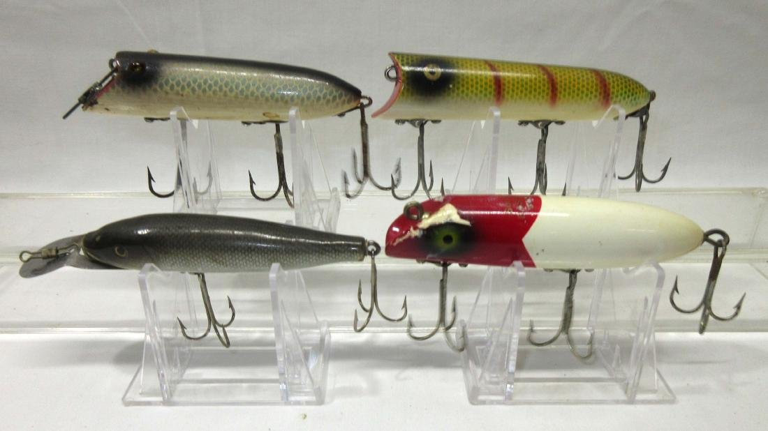 4 Vintage Fishing Lures