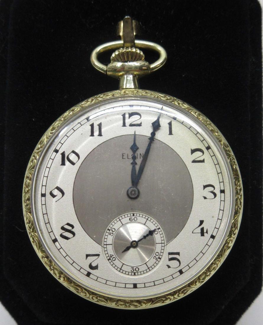 Elgin Sz 6 Pocket Watch