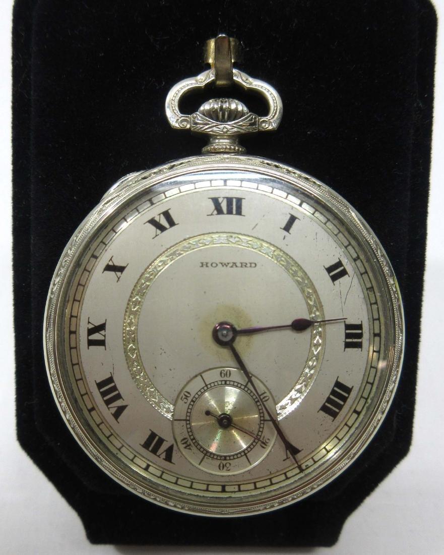 17j Howard Pocket Watch Sz 16
