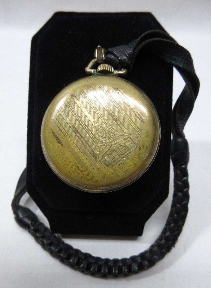 Illinois Pocket Watch w/ Leather Fob - 3
