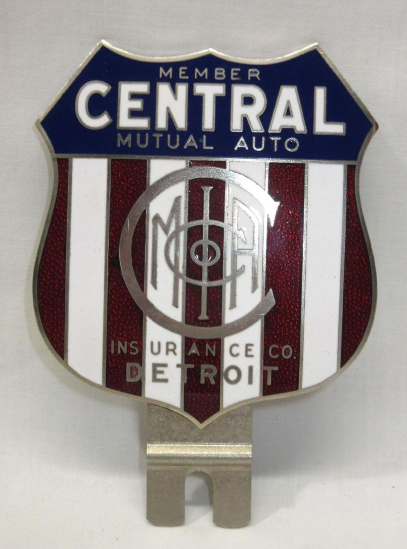Central Mutual Insurance License Plate Topper