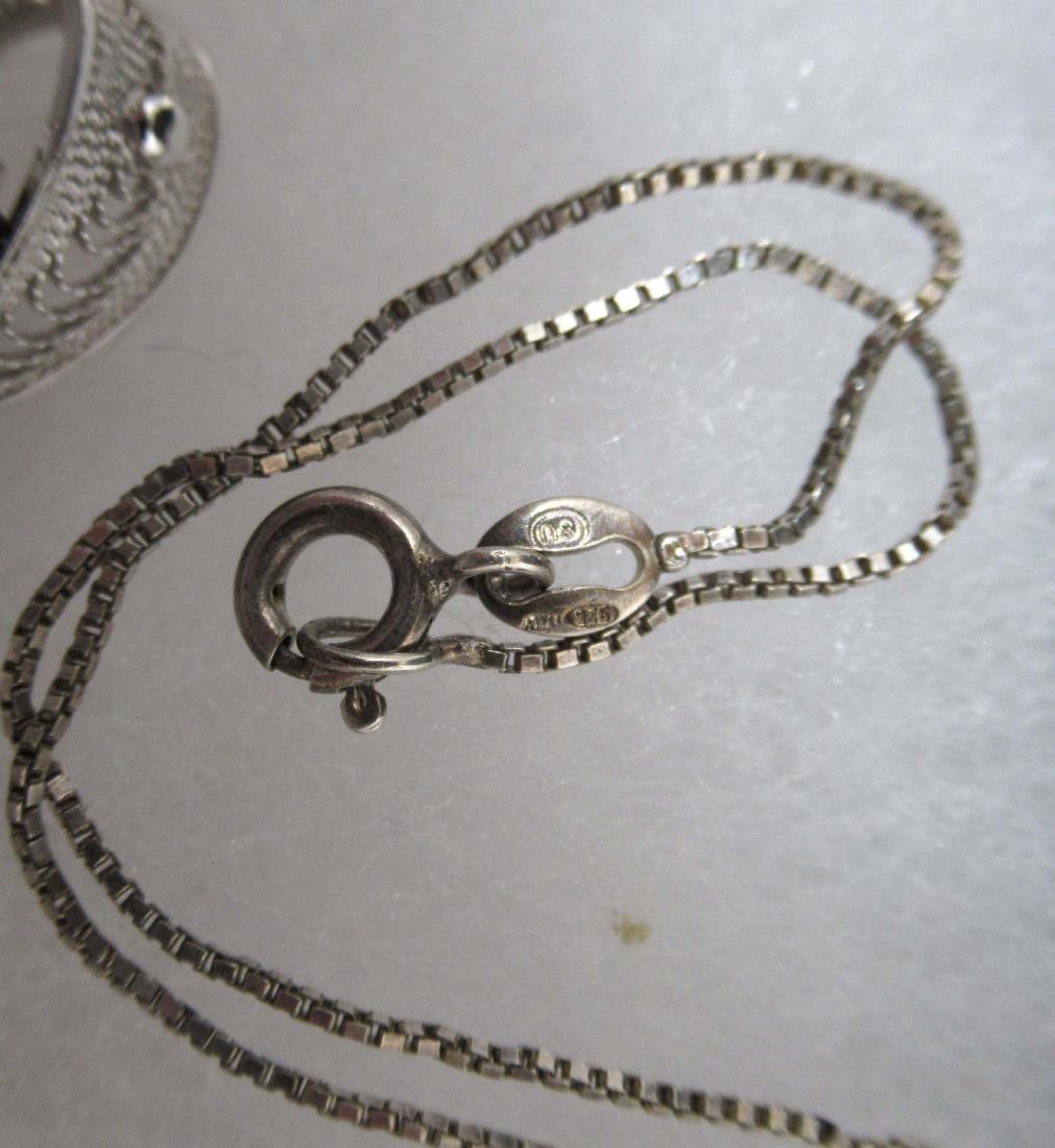 Sterling Hematite Jewelry, 6pc - 4