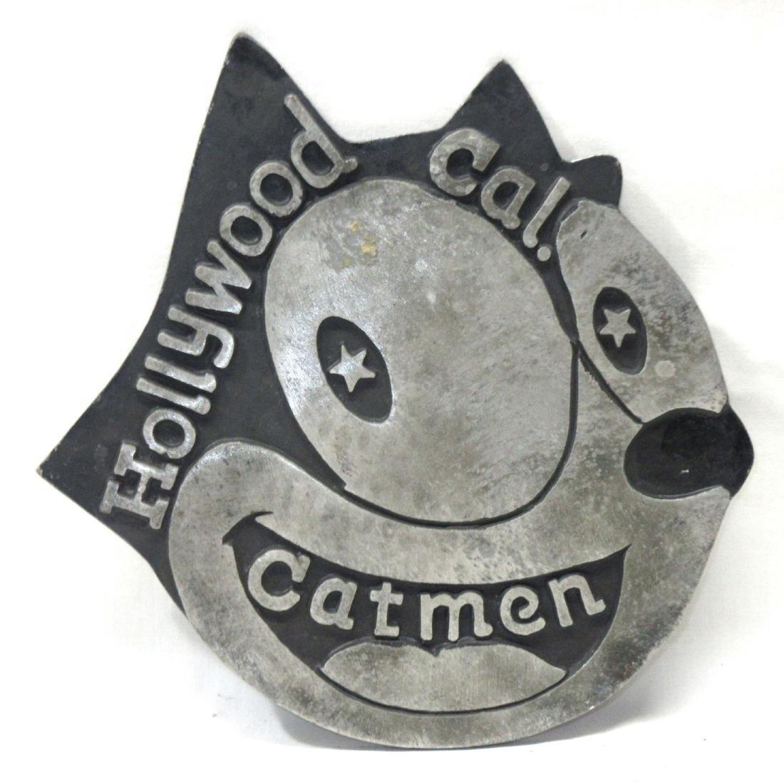 Modern Hollywood Catmen Sign