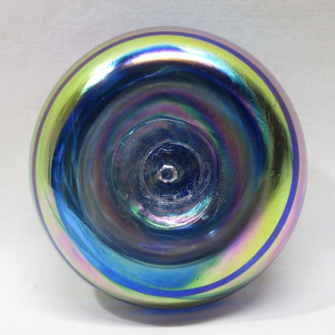 Sgnd Art Glass Paperweight - 2