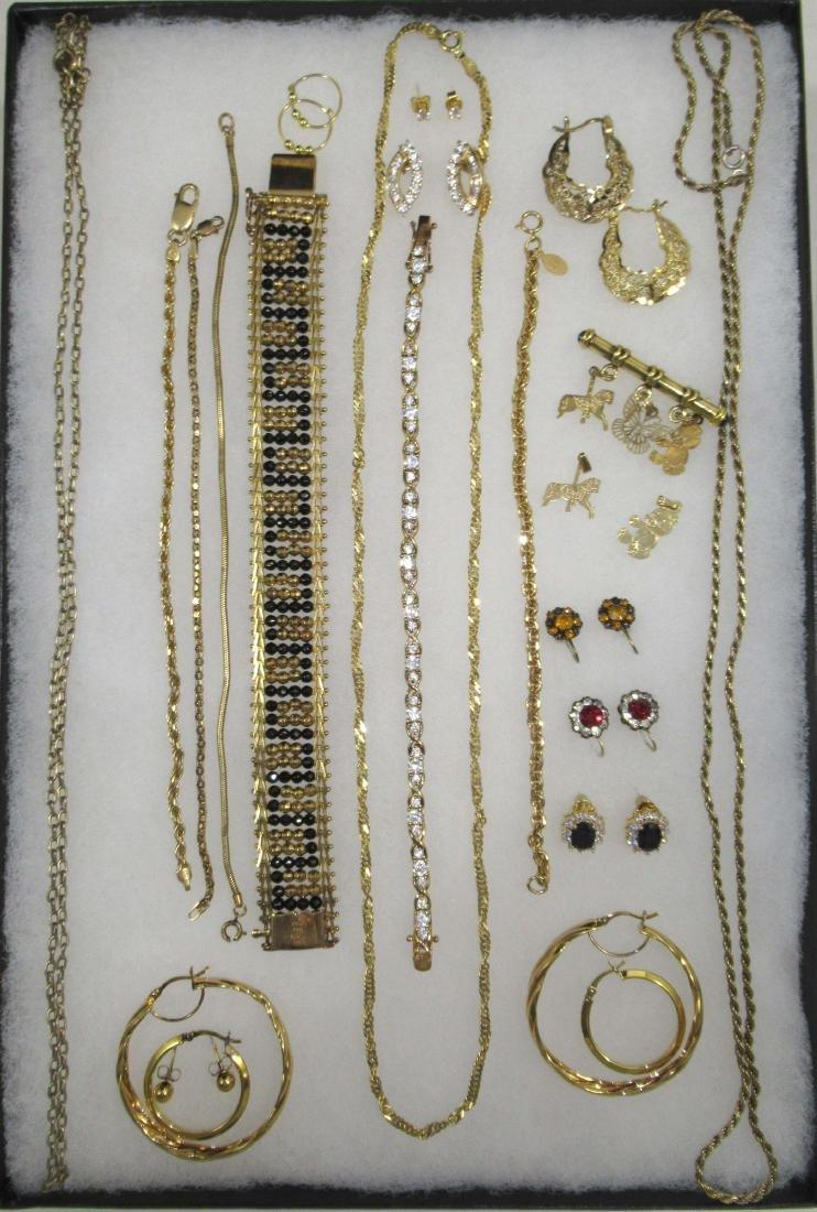 Sterling Vermiel 20pc Jewelry