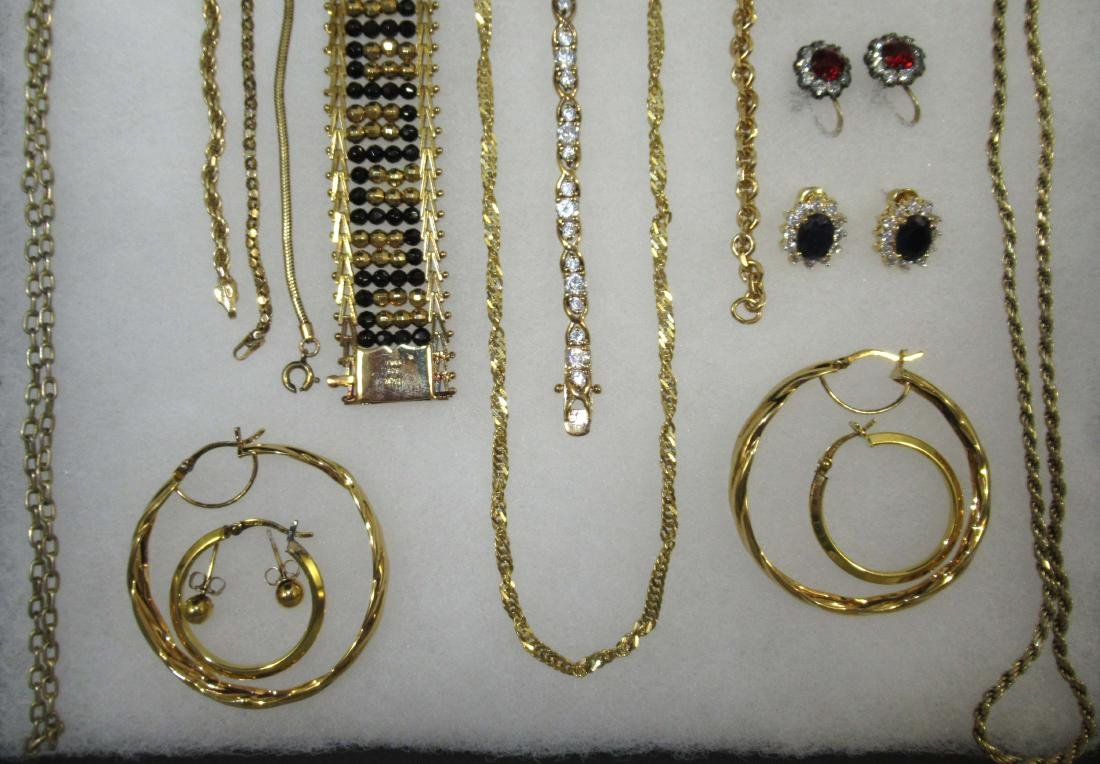 Sterling Vermiel 20pc Jewelry - 2