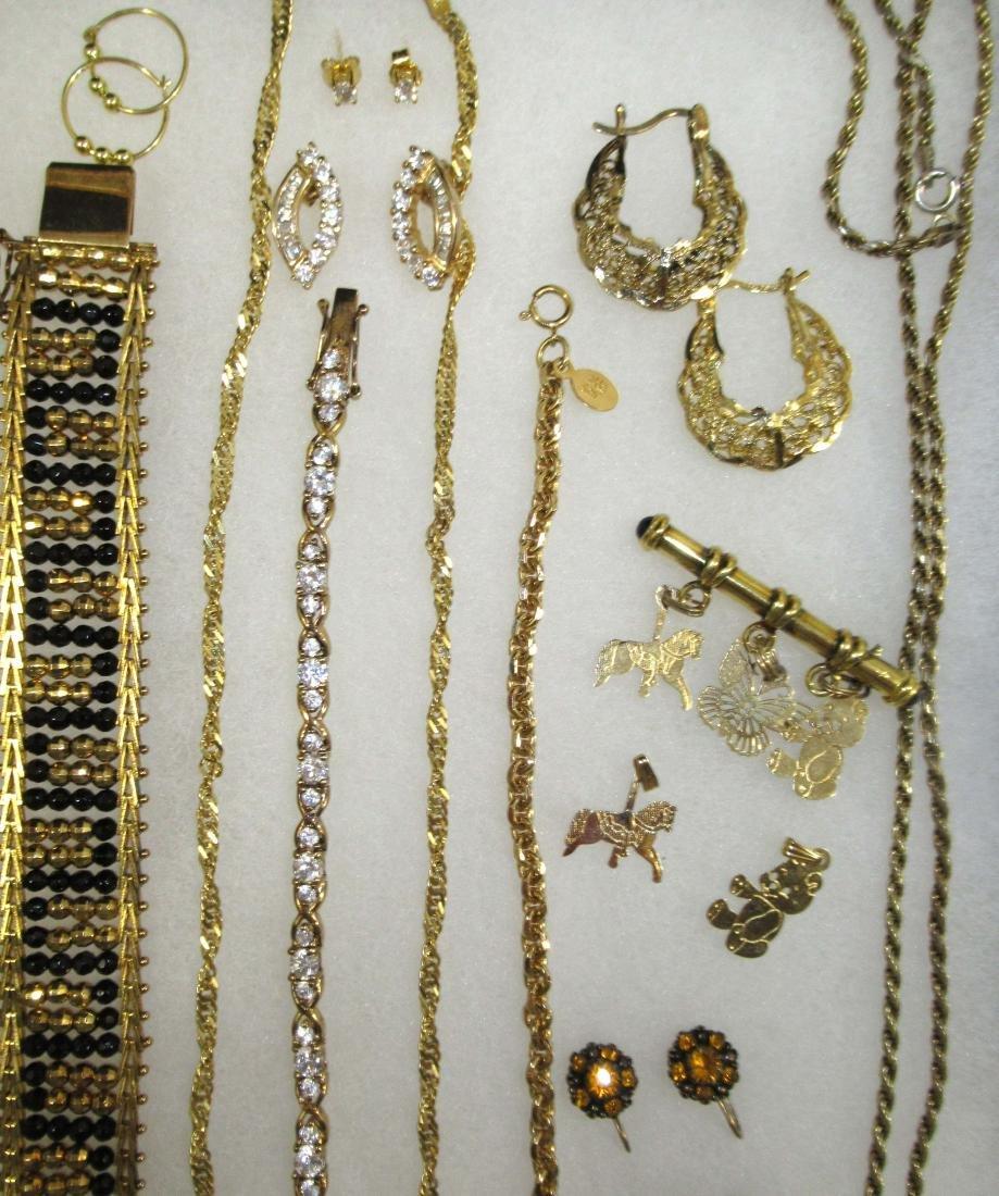Sterling Vermiel 20pc Jewelry - 3