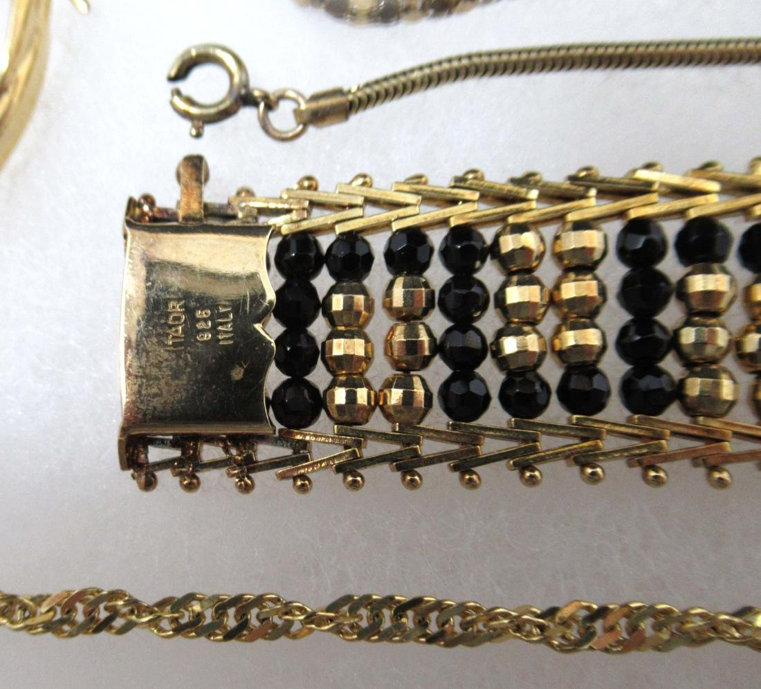 Sterling Vermiel 20pc Jewelry - 4