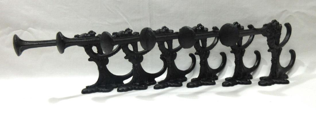 Set Of 6 Hall Tree/Hat Hooks