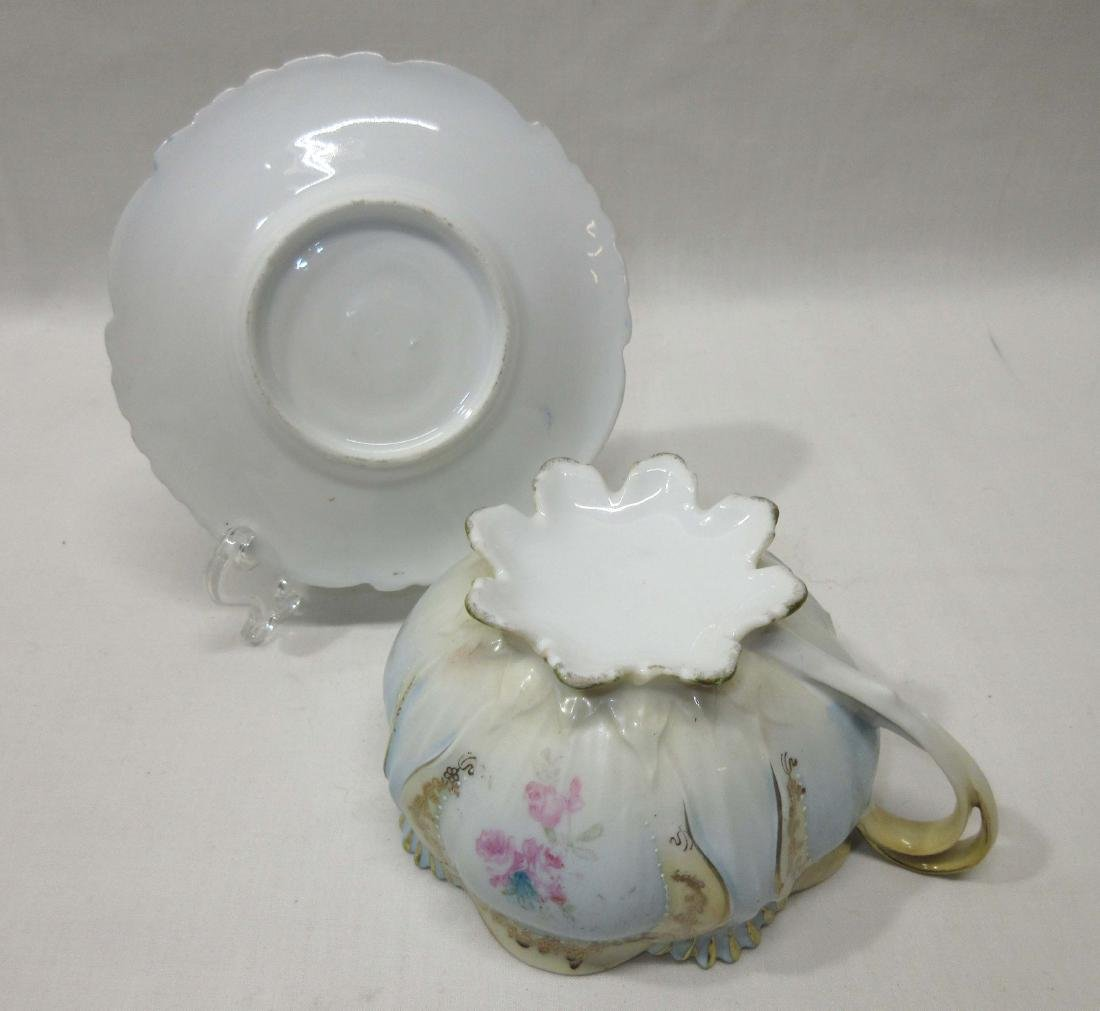 RS Prussia Footed Cup & Saucer - 2