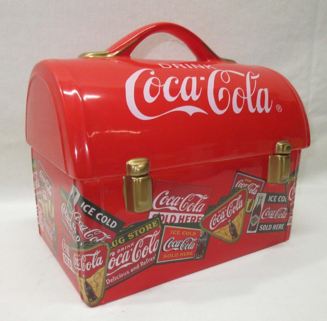 Coca Cola Lunch Box Cookie Jar