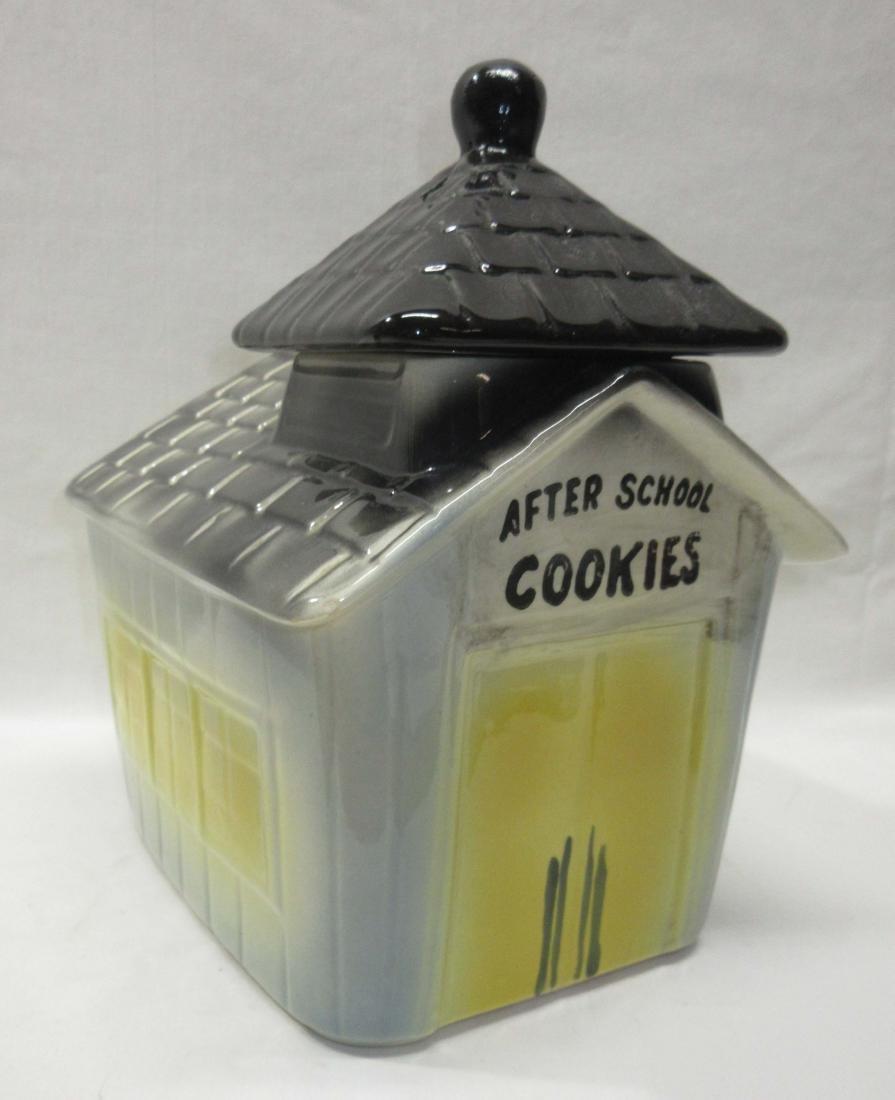 Schoolhouse Cookie Jar