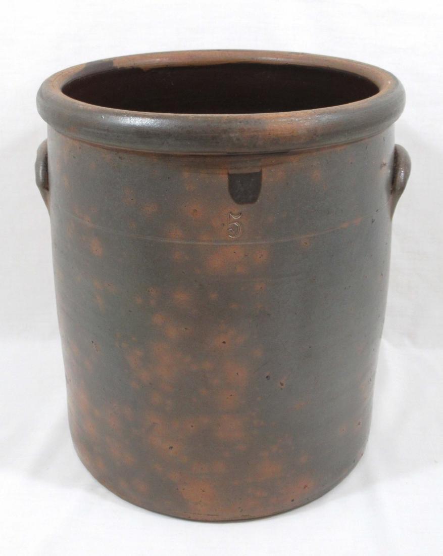 5 Gal. Commerce Pottery Crock