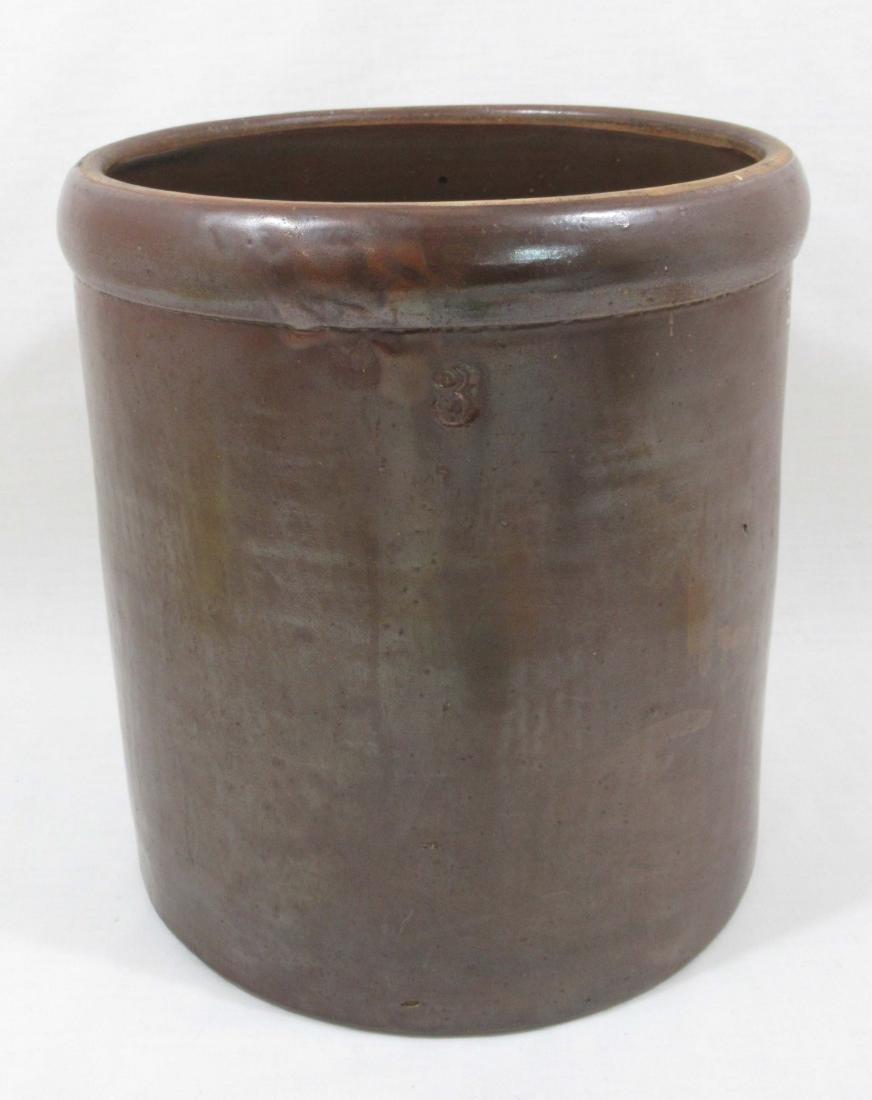 Evans Pottery 3 Gal. Crock