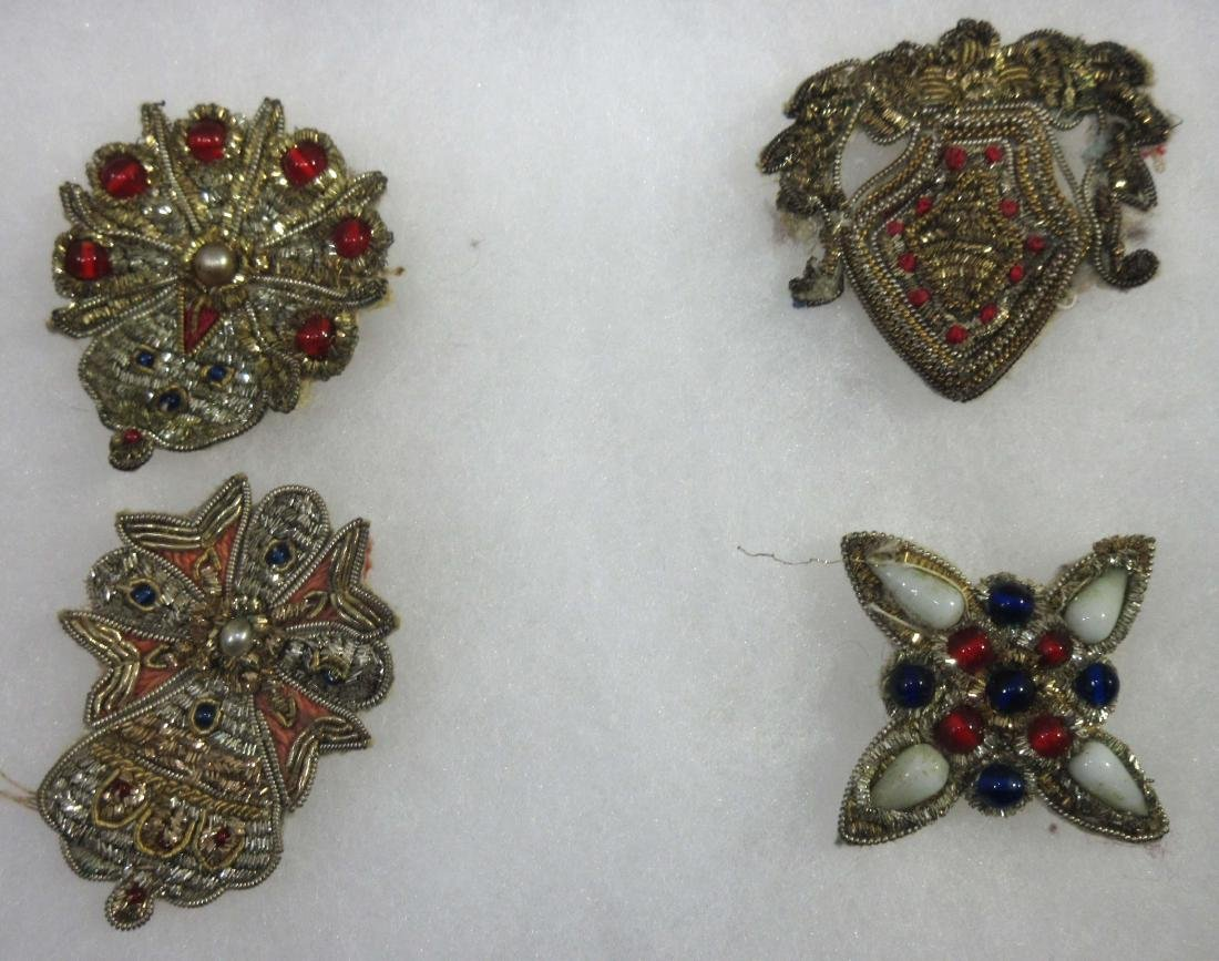 Lot of Brooches, Pins, & Earrings - 5