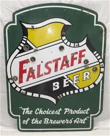 Porcelain Falstaff Beer Sign