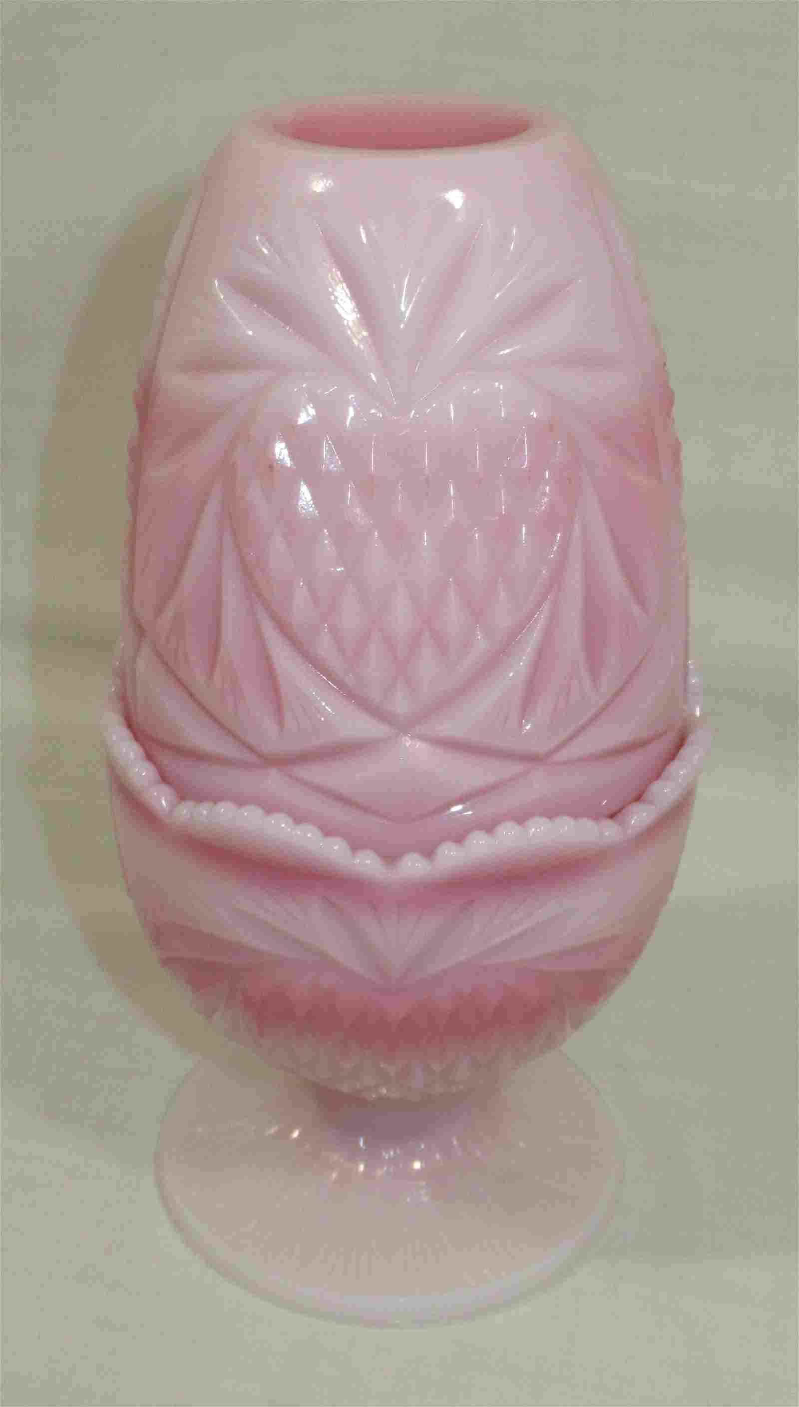 Fenton Rosalene Fairy Lamp