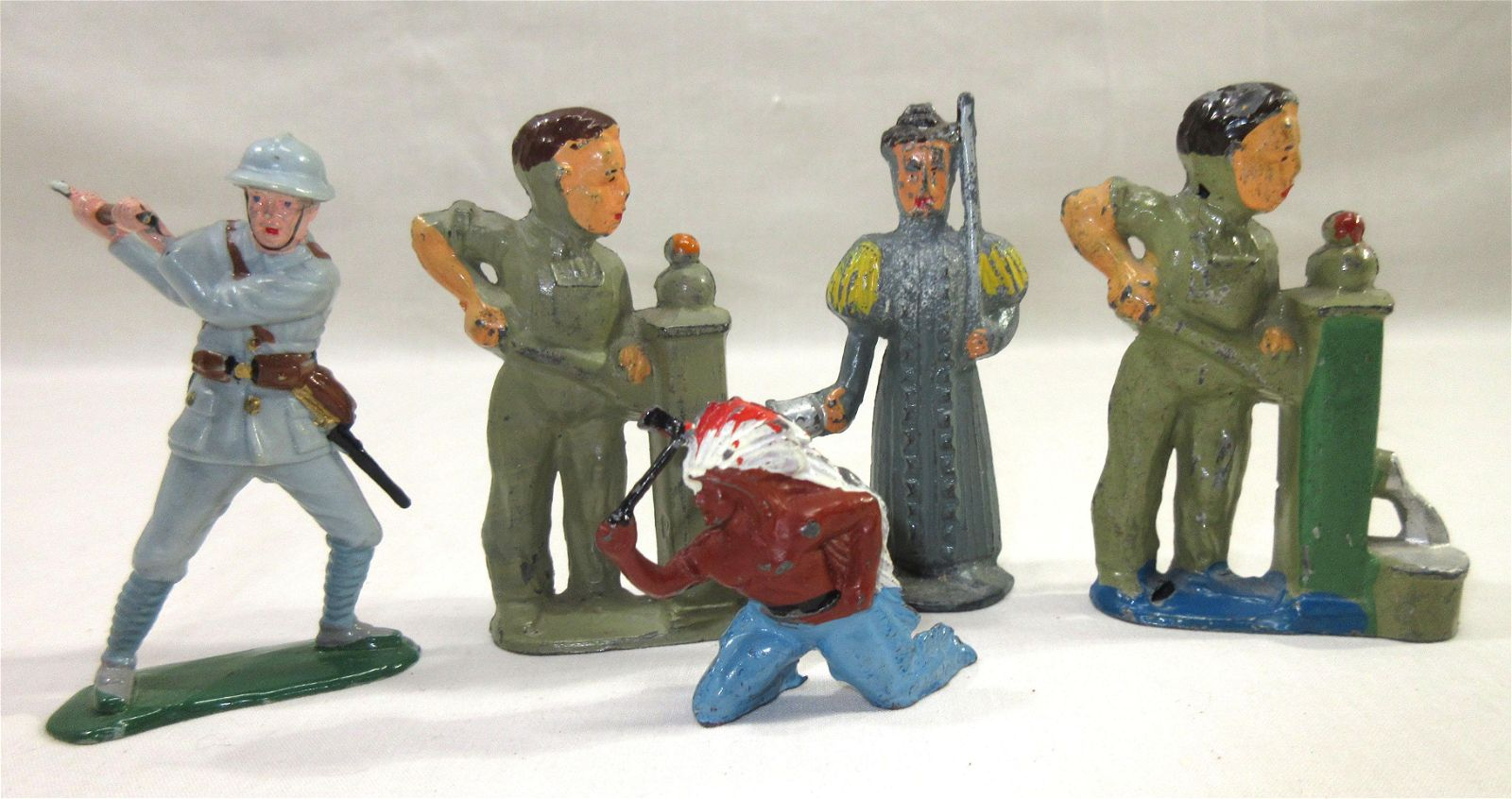 Group of Lead Figures