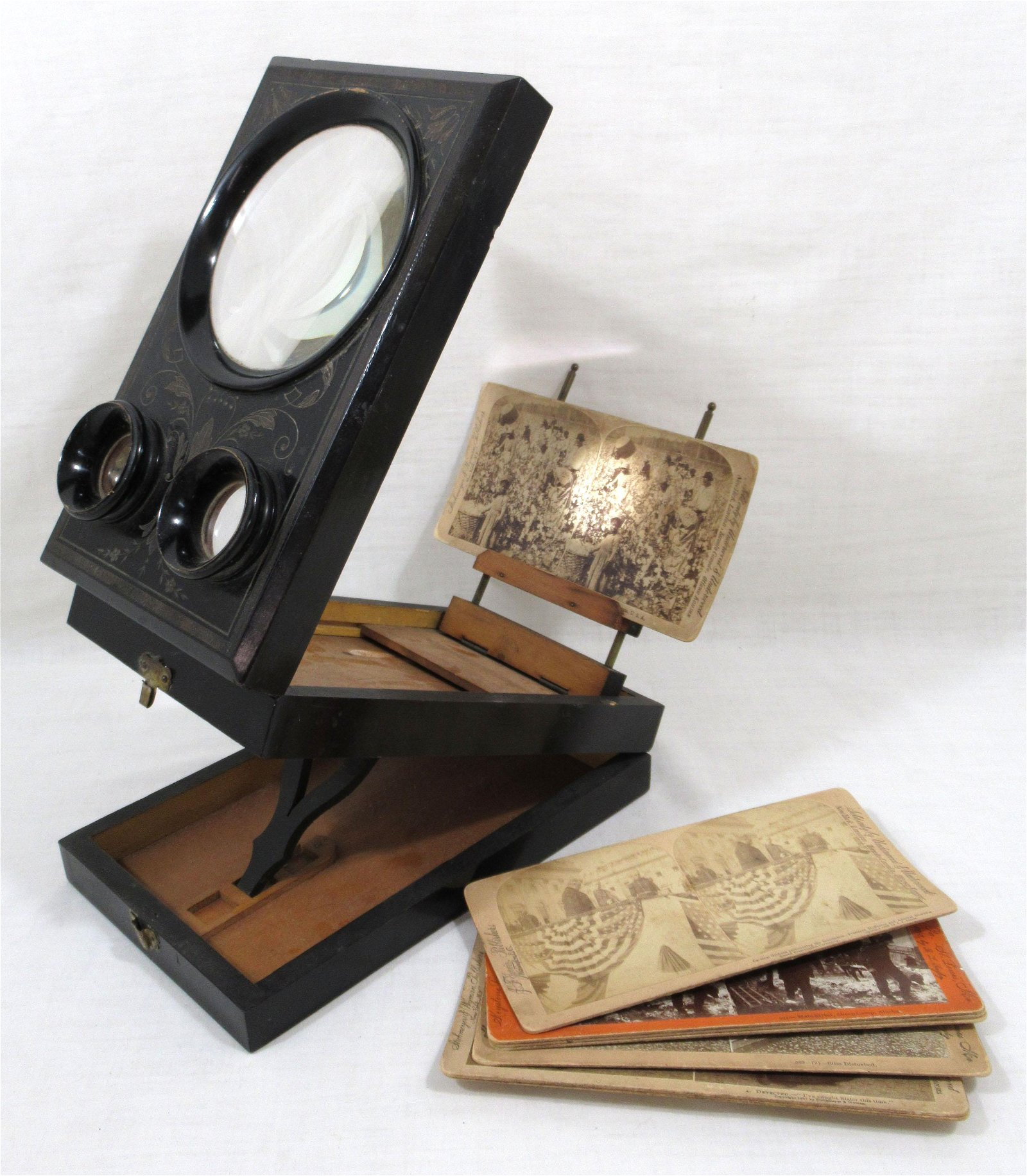 Stereoscopic Viewer w/ 8 Cards