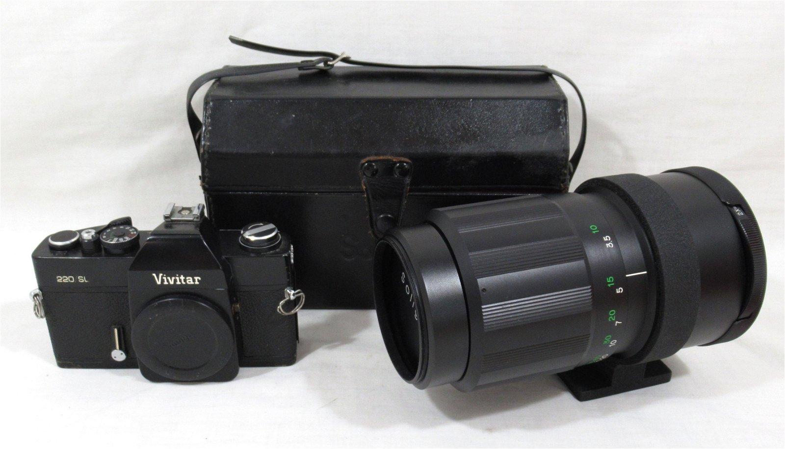 Vivitar 220/SL Single Lens Reflex Camera