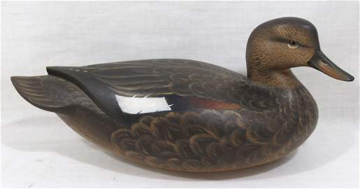 Sean Sutton Hollow Body Duck Decoy