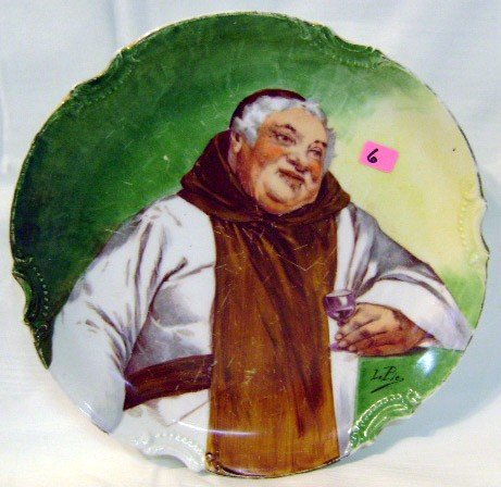 6: Hand-painted Limoges Plate