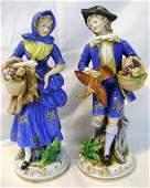 229: Pr Occupied Japan Porcelain Figurines