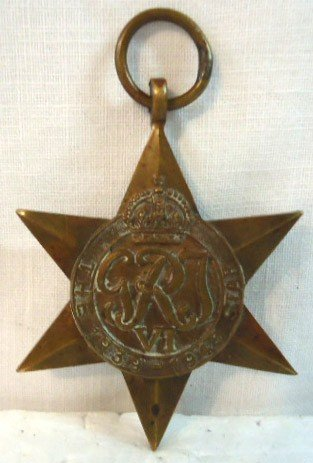 20D: Bronze Six Point Star Medalion