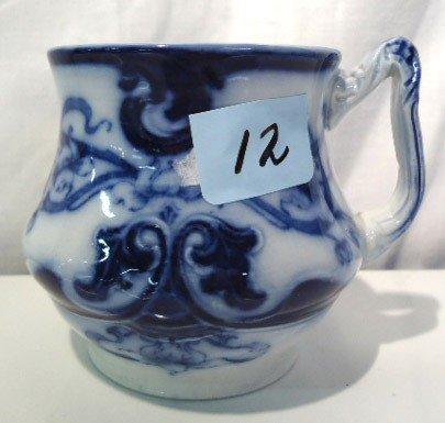 12: Flow Blue Shaving Mug
